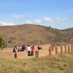 Chiesetta in costruzione nella parrocchia di Mbuga