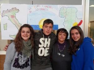 Foto di gruppo per la solidarietà